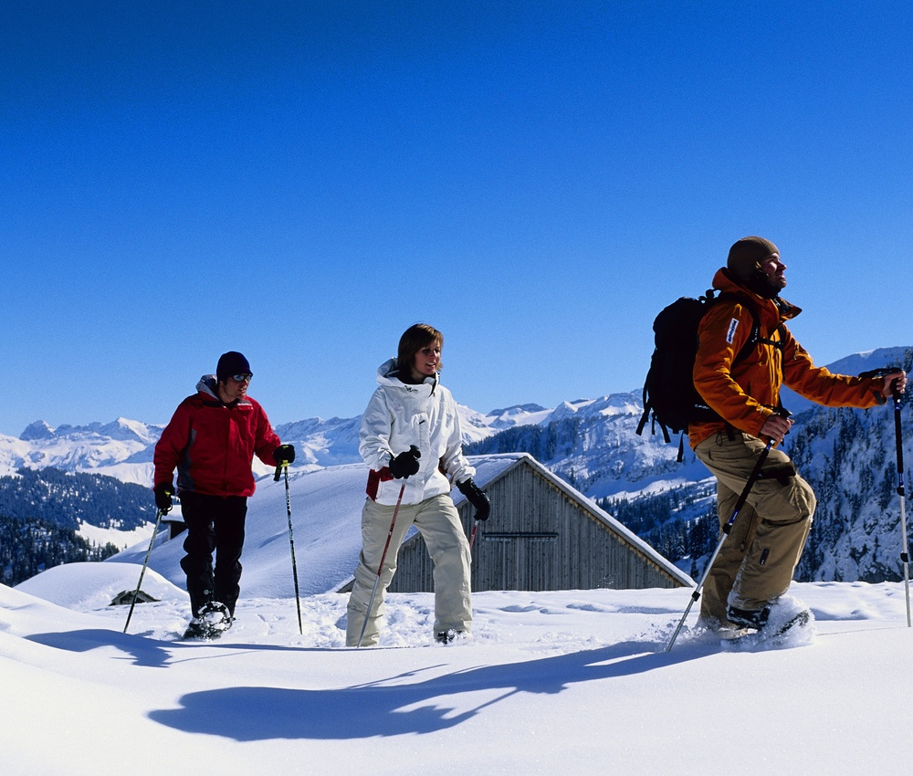 Pleasure of winter sports for adults and adolescents