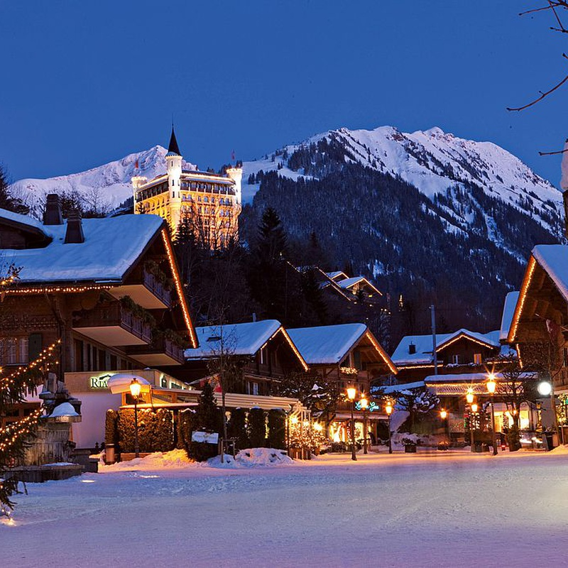 Christmas days in Gstaad